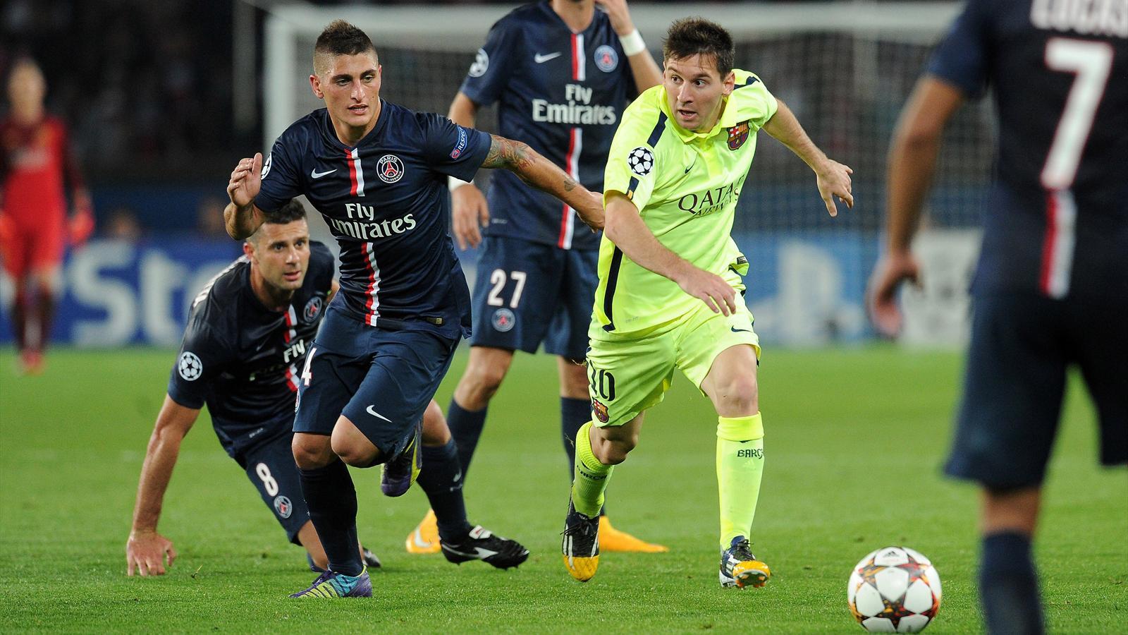 PSG – FC Barcelone ligue des champions 2014-2015