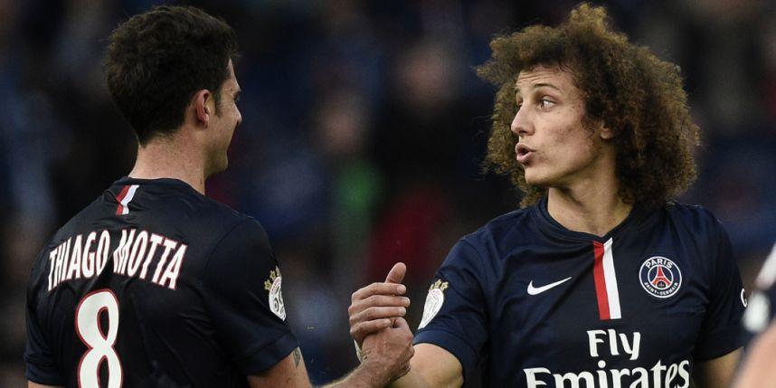 Blessures musculaires pour David Luiz et Thiago Motta