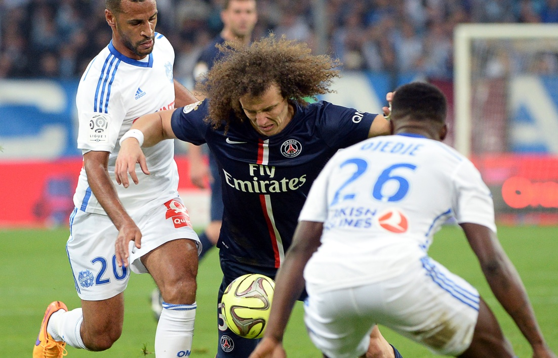Durées d'absence de David Luiz et Thiago Motta