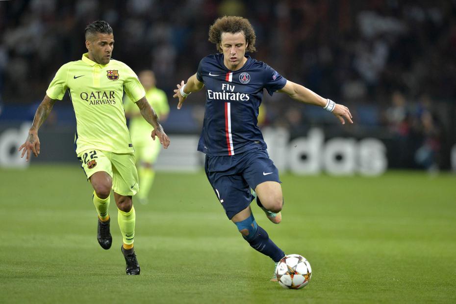 Retour de David Luiz pour PSG-Barcelone