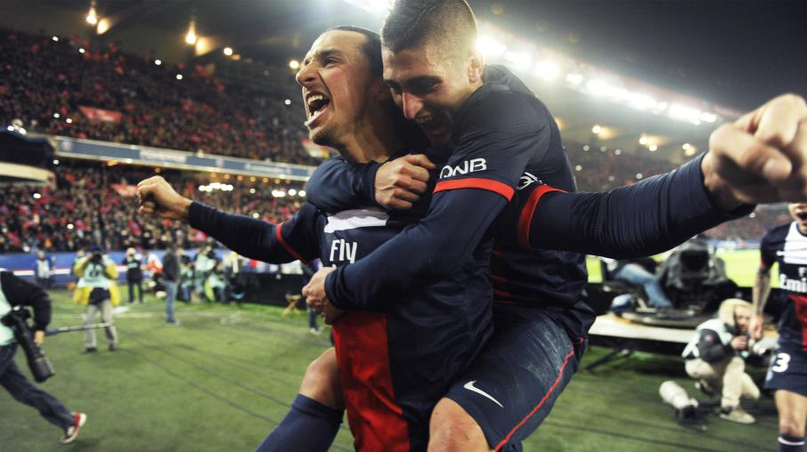 Verratti encense Ibrahimovic
