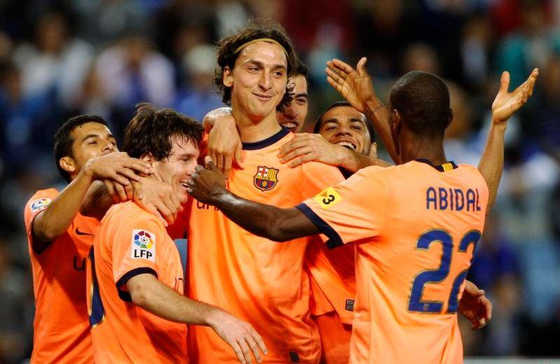 Eric Abidal apporte son soutien à Zlatan Ibrahimovic