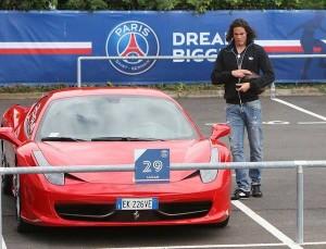 cavani Ferrari 458 Italia