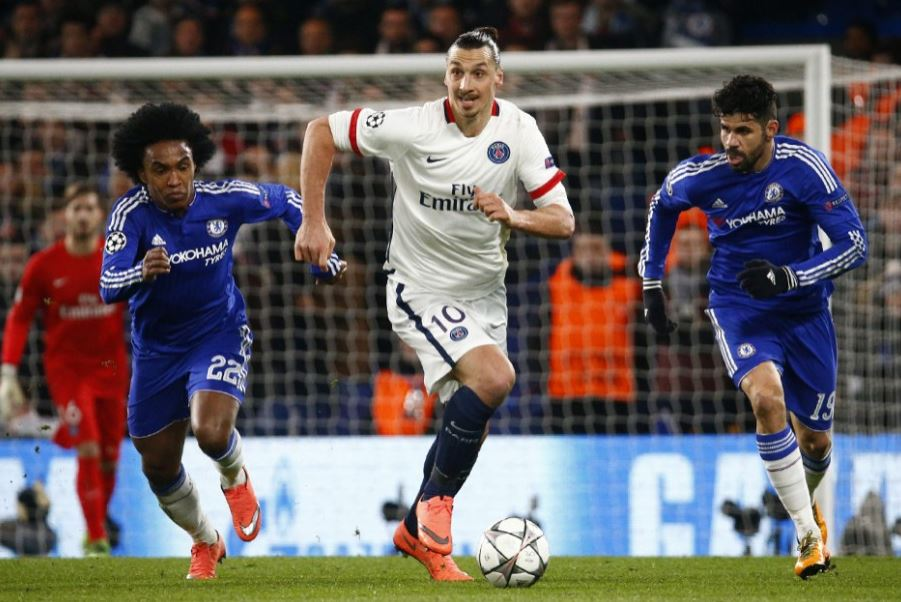 Replay video Chelsea PSG ligue des champions 2016